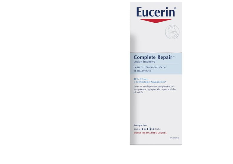 eucerin complete repair lotion intensive peau s che. Black Bedroom Furniture Sets. Home Design Ideas