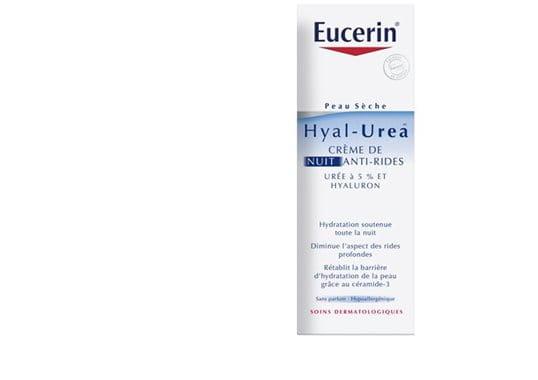 eucerin peau s che cr me de nuit anti rides hyal urea d 39 eucerin. Black Bedroom Furniture Sets. Home Design Ideas
